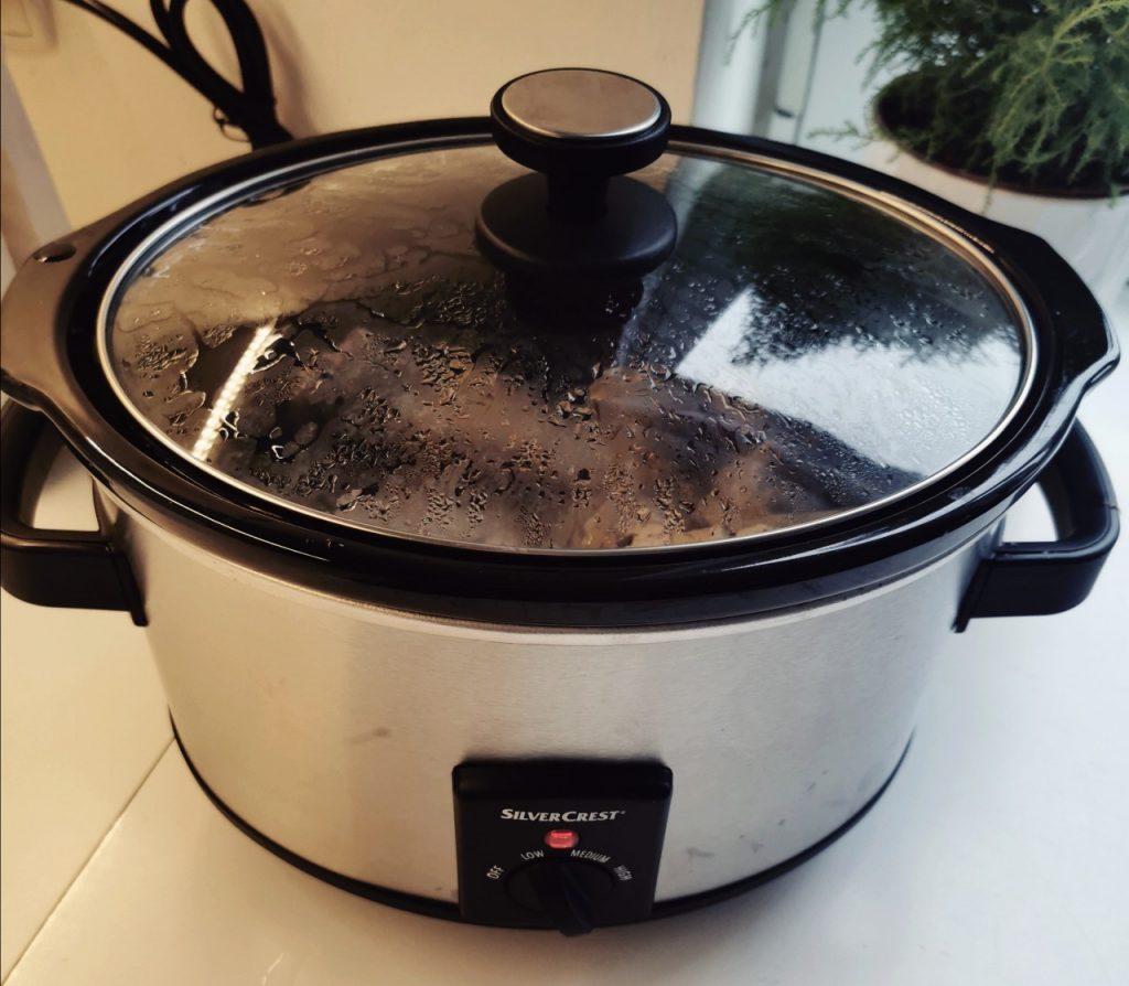 wolnowar w trakcie gotowania