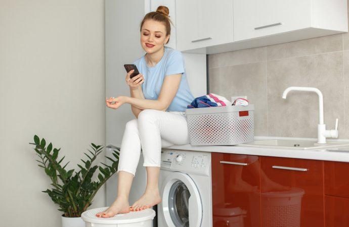 ZEN podczas prania – cicha pralka